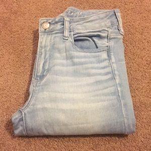 Light denim American Eagle jeans